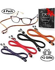 Eyeglasses Holder Strap Cord - Premium ECO Leather Eyeglasses String Holder Chain Necklace - Glasses Cord Lanyard - Eyeglass Retainer