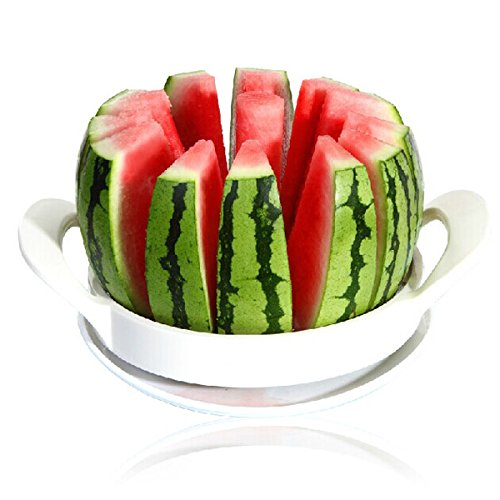 Price comparison product image Citrullus Vulgaris Cantaloup Carver - Stainless Steel Melon Watermelon Cantaloupe Slicer Cutter Patent Fruit Tool - Vine Cutlery Cucumi Cantalupensi - 1PCs
