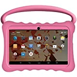 "Kids BTC UK 7"" Quad Core Tablet PC (1GB RAM, 8GB HDD, IPS display, Google Android 4.4, WIFI, USB, Bluetooth) - Pink"