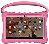 Kids BTC UK 7' Quad Core Tablet PC (1GB RAM, 8GB HDD, Super UHD display, Google Android 5.1, WIFI, USB, Bluetooth) - Pink