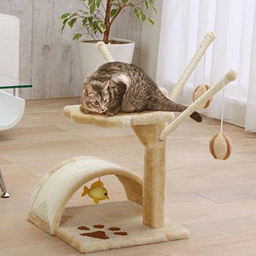 Lower Type Cat Tower Cat Tree Cat Toy Cat Furniture Cat Condo QQ80003, My Pet Supplies
