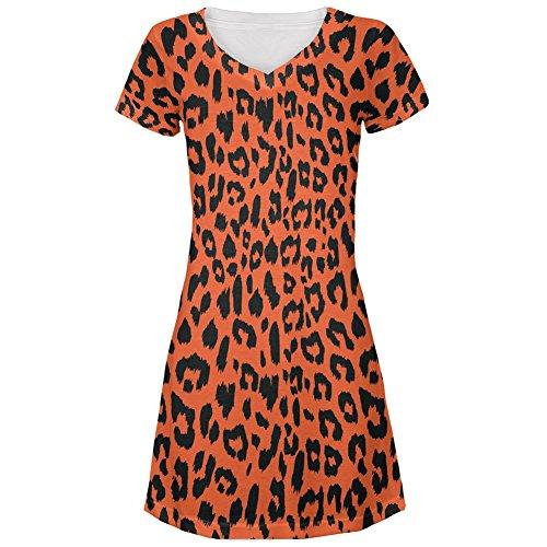 cheetah dresses for juniors - 7
