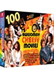 100 Awesomely Cheesy Movies: Evel Knievel - Hunk - Tomboy - The Kidnapping of the President - Laser Mission - Night of the Sharks - David Coppeerfield - The Borrowers + 92 more!