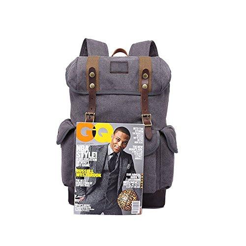 Neu, Retro, Persönlichkeit, Mode, Outdoor Tasche, Rucksack, Leinentasche, D0233