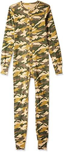 - Carhartt Men's Force Classic Thermal Base Layer Union Suit, Rugged Khaki Camo, 2X-Large