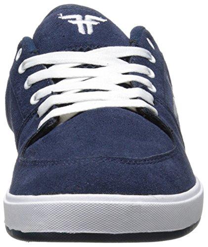 Fallen Hombre fa-patriot monopatín zapatos Midnight Blue/White