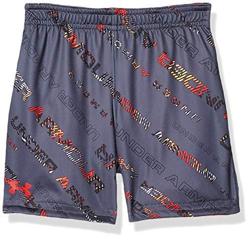 Reversible Boys Shorts - Under Armour Boys' Toddler Reversible Short, Dark Grey 2T