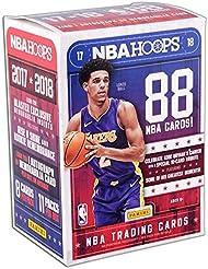 2017/18 Panini Hoops NBA Basketball BLASTER box (11 pk + ONE Memorabilia or Autograph card)