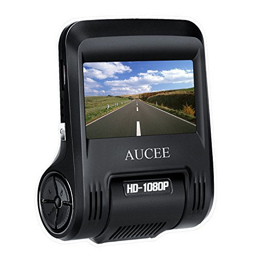 AUCEE Roader Dash Cam, WiFi 1080P Full HD 170° Wide Angle 2.45'' Screen Car Dashboard Camera Recorder, Car DVR Vehicle Camera with Night Vision, G-Sensor, WDR, Loop Recording, Parking Monitor