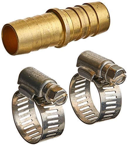 Mintcraft GB91113L Britan 91113L Brass Hose Mender with Clamps