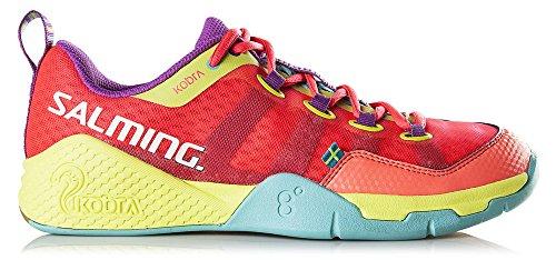 Salming - Zapatillas de balonmano de Material Sintético para mujer rosa rosa