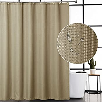 Barossa Design Fabric Shower Curtain Cream