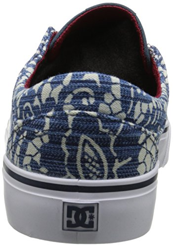 TX Shoes Mode DC Baskets Trase Denim Multicolore Se Femme qgnBAEx6B