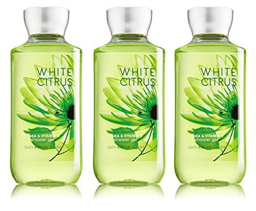 Lot of 3 Bath & Body Works White Citrus 8.0 oz Shower Gel
