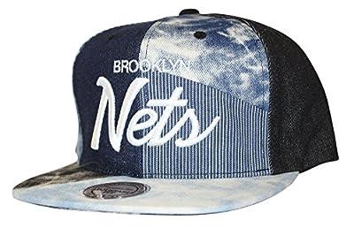 Mitchell & Ness Men's Denim Craze NBA Snapback Cap