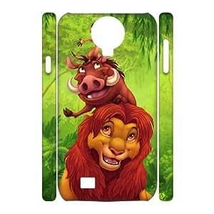 DIY Samsung Galaxy S4 I9500 Case, Custom Samsung Galaxy S4 I9500 3D Cover - The Lion King