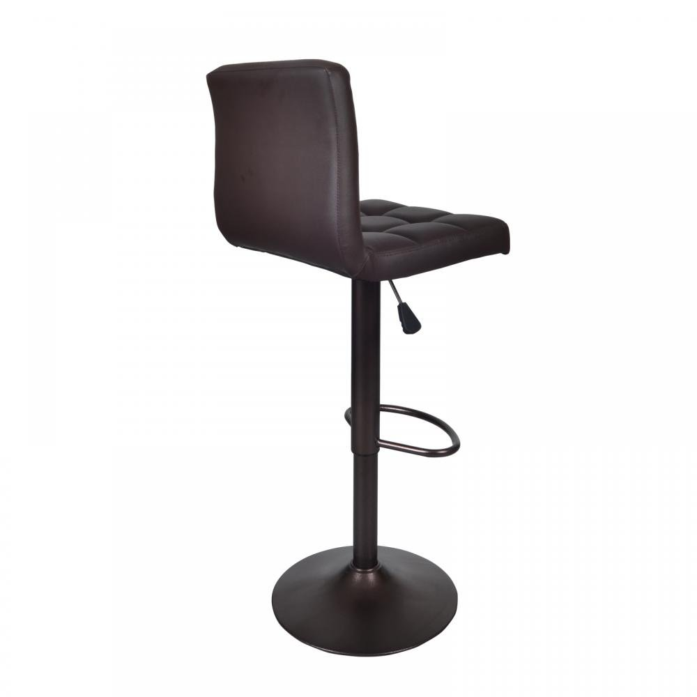 Amazon.com Brown 2 PU Leather Modern Adjustable Swivel Barstools Hydraulic Chair Bar Stools Kitchen u0026 Dining  sc 1 st  Amazon.com : stool bar chairs - islam-shia.org