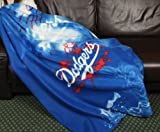 Los Angeles Dodgers MLB Fleece Throw Blanket by Northwest