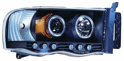 Pair 03-X8-CWS-408B2 IPCW CWS-408B2 RAM Pickup Black Projector Head Lamp