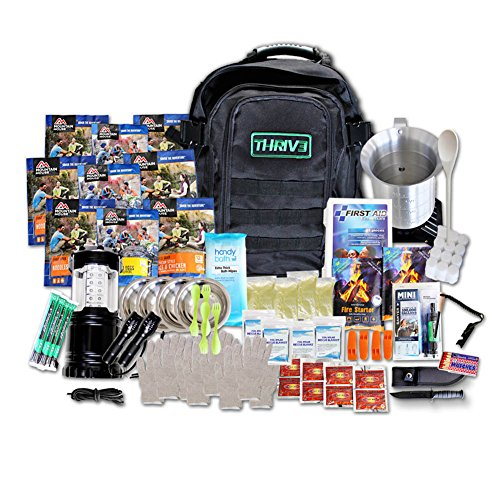 72 Hour Emergency Survival Kit/Bag for 4 people by THRIV3