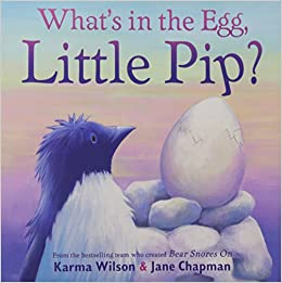 Book What's in the Egg, Little Pip?