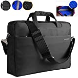17.3 Inch Laptop Bag Nylon Waterproof with Shockproof Fit Up To 17 Inch Gaming Laptops Notebook Computer for Dell,Asus,Msi,Hp (Black)