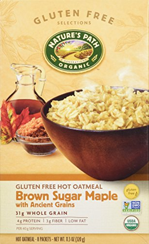 Natures Path Cereal Hot Gluten Free Brown Sugar Maple, 11.3 oz