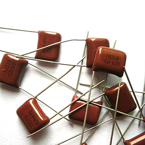 Cary 10pc Metallized Polypropylene Film Capacitor 0.01uf 630v for Tube Amp