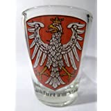 Frankfurt am Main Germany Coat Of Arms Shot Glass