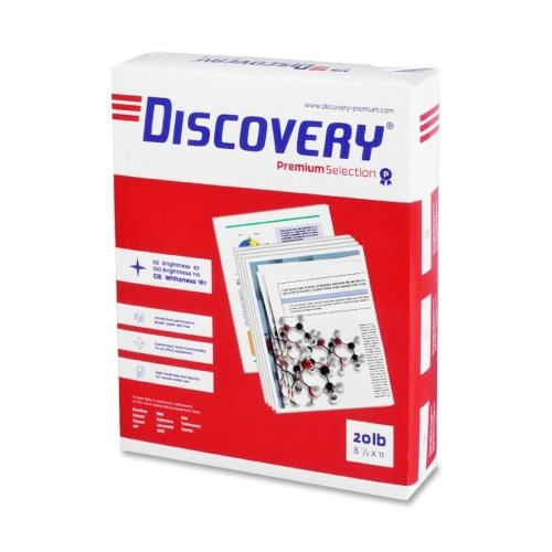 Wholesale CASE of 5 - Soporcel Discovery Premium Selection 3HP Paper-Multipurpose Paper,8-1/2x11