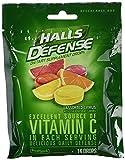 Halls Defense Assorted Citrus Cough Drops With Vitamin C, 180 ct