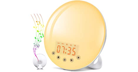 Solmore Wake-Up Light Alarm Clock only $19.79