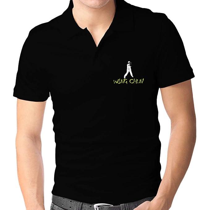 Teeburon Wing Chun Graffiti Style Polo Camisa L: Amazon.es: Ropa y ...