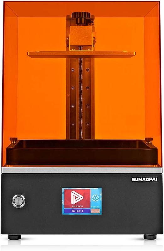 SUMAOPAISQ1光造形式405nmUVLCD3DプリンターWiFiデュアル・リニアレールデスクトップタッチスクリーン停電リカバリ高精度静音(工場直販)(造形サイズ:約115x65x100mm)