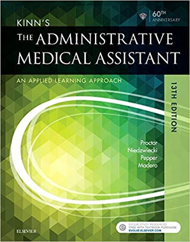 Kinn S The Administrative Medical Assistant An Applied