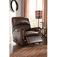 3800025 Lottie Durablend Chocolate Rocker Recliner