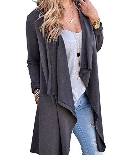 Greentree Women's Women's Solid Knitted  - Cotton Long Cardigan Shopping Results
