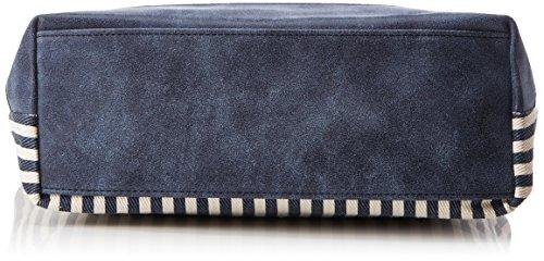 Tom Tailor Denim Mila Ahoi Donna Borse a tracolla Blu (Blau) 8x25x28 cm (B x H x T)