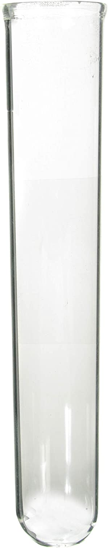 25mm OD x 150mm Length American Educational Borosilicate Glass Round Bottom Test Tube Pack of 72