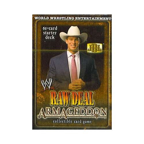 WWE Raw Deal Card Game Armageddon Starter Deck JBL by Comic Images