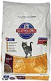 Hill'S Science Diet Adult Light Dry Cat Food, 17.5 Lb Bag