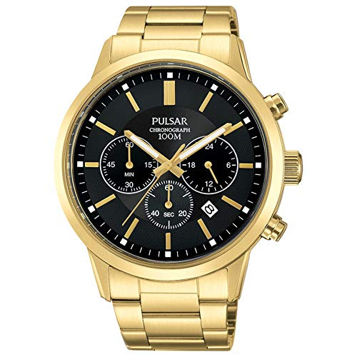 (Mens Pulsar Chronograph Watch PT3748X1)