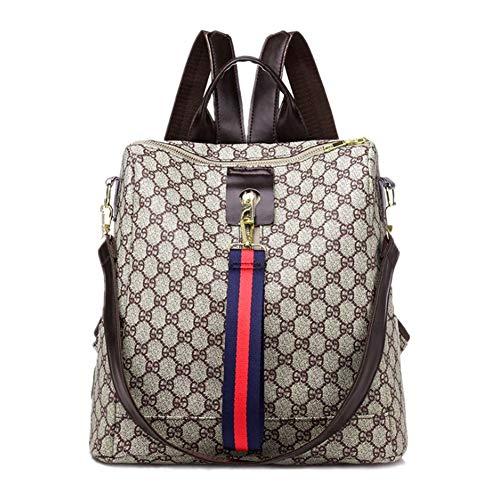 GTESCO Backpack,Designer Fashion Backpacks Purse for Women Teens Girls Medium (M, C)