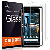 MP-MALL [3 Pack] Screen Protector for Google Pixel 2, [Alignment Frame Easy Installation]