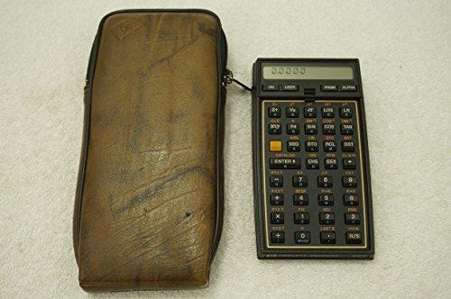 - Hewlett Packard 41CV calculator