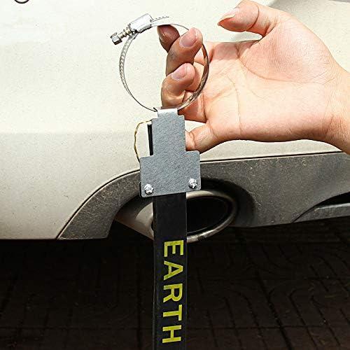 Wellouis 1 Stück Auto Anti Static Rubber Strap Eliminator Erdung Sicher Für Das Fahrzeug Fahren Haustier
