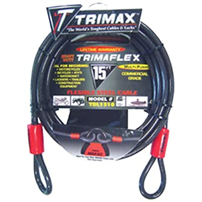 Trimax TDL1510 Trimaflex 15' X 10mm Dual Loop Multi-Use Cable: Automotive