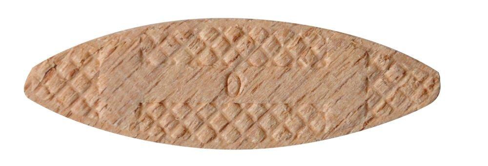kwb Verbindungsplä ttchen Grö ß e 0 fü r 8 mm Nuten 029100 (50 Stü ck, aus Buchenholz) 029-100