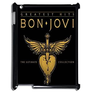 Diy Bon Jovi Cover Case, DIY Hard Back Phone Case for iPad2,iPad3,iPad4 Bon Jovi