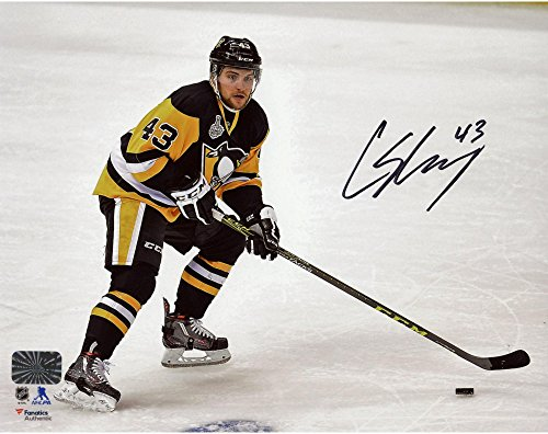 Conor Sheary Pittsburgh Penguins 2016 Stanley Cup Champions Autographed 8